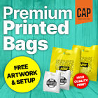 PREMIUM CARRIER BAGS • CUSTOM PRINTED • QUALITY PLASTIC / POLYTHENE BAG MATERIAL
