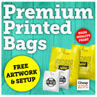 CARRIER BAG PRINTING | Cheap Custom Printed Personalised Plastic Carrier Bags