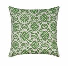 Green Medallion Outdoor Throw Pillow, Tommy Bahama Medallion Isle Jungle Pillow