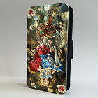 Amazing Alice In Wonderland Mad LEATHER FLIP PHONE CASE COVER IPHONE & SAMSUNG
