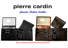 Pierre Cardin - Men's Wallet - Genuine Italian Leather - Removable Coin Purse