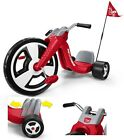 Big Wheel Tricycle Red Bike Pedal Toy Kids Ride On Original Sport Chopper Trike