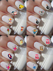 OLD CARTOONS NOSTALGIC KID TV NAIL ART DECALS STICKERS WATER TRANSFERS