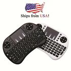 Hot Mini i8 Lot USA Wireless keyboard 2.4Ghz Touchpad for Android TV box