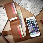 """Mens Leather Wallet Case Cover for Apple Iphone 6 (4.7"""") And 6 Plus (5.5"""")"""