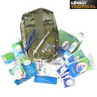 MILITARY DELUXE FIRST FIRST AID KIT RAPID MEDICAL MTP BTP CAMO POUCH SURVIVAL