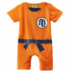 Baby Boys Dragon Ball Z Romper Costume Infant Halloween Outfit Newborn Playsuit
