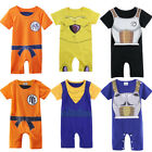 Baby Boys Dragon Ball Z Romper Costume Infant Halloween Outf