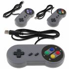 SNES USB Controller For PC/Mac Super Nintendo Game SNES Retro Classic Gamepad