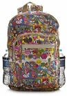 Big Handbag Shop Unisex Zip Pockets Cartoon Lightweight Large Backpack Bag