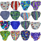 My Pool Pal Baby Infant Boys Reusable Swim Diaper Cover Runs 2 Sizes Small