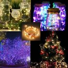 20/50/100LED Battery&Plug Micro Rice Wire Copper Party&Christmas String Lights