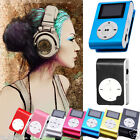 Mini Clip MP3 Player USB LCD Screen Support 32GB Micro SD SD TF Card Wholesale