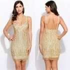 New Fashion Women Spaghetti Strap Cocktail Evening Party Short Mini Pencil Dress