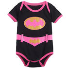 Baby Boy Girl Superhero Costume Funny Bodysuit Infant Outfits Newborn Cosplay