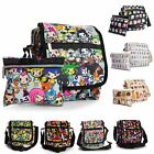 Big Handbag Shop Unisex Zip Pockets Cartoon Lightweight Small Messenger Bag