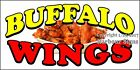 (CHOOSE YOUR SIZE) Buffalo Wings DECAL Concession Food Truck Vinyl Sticker