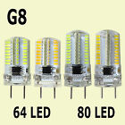 1-10x G8 Dimmable SMD 3W 5W LED Light Silicone White/Warm 110V 220V Bulb Samsung
