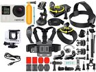 GoPro Hero 4 Silver Edition Touchscreen + 40 Pcs Extreme Sports Package Bundle!