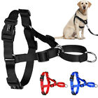 Pull Dog Harness Stop Pulling  Nylon Harness for Large Dogs Pitbull Boxer S M L
