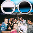 Portable Selfie Flash LED Ring Light Camera Photography For iPhone Samsung Hot