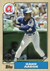 2017 Topps Series 1 30th Anniversary 1987 TOPPS Insert Set Singles - You Select
