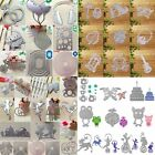 Various Metal DIY Cutting Dies Stencil Scrapbooking Embossing Paper Card Decor