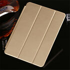 Flip Leather Smart Case Cover Wake Protector for iPad 3 4 Mini 4 Air 2 Pro 12.9""