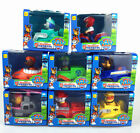 Set of 8pcs Paw Patrol Racer Chase Everest Ryder Skye Character Figure Toy Plush