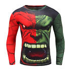 2017 New Fashion Fitness Compression Men Cosplay Male Crossfit Superman T Shirt