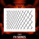 Airbrush stencil template CHAIN LINK CHAINLINK CHN3 - 2 SIZES AVAILABLE MID XXL