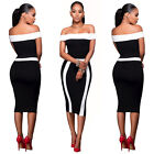 Women Casual Bandage short Sleeve Cocktail Party Evening Bodycon Mini Dress