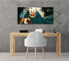 """Fairy Tail Anime Poster Landscape Up To 33"""" x 72"""" Lucy Natsu Anime Wall Art L208"""