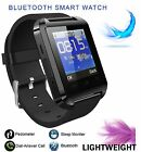 Bluetooth Smart Wrist Watch Phone Mate For Android iPhone Samsung HTC LG US