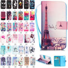Luxury Flip Wallet Leather Painted Magnetic Card Holder Case For iPhone Bumper