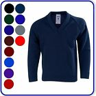 "New Good Quality Boys Girls School V-Neck Knitted Pullovers Sizes 22""-38""(3000)"