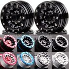 "1.9"" Beadlock Aluminum Wheel Rim For RC 1/10 Rock Crawler Axial 1060 SCX10 D90"