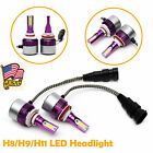 2Pcs 240W H11 LED Headlight For High Beam or Low Beam Upgrade 6th Generation