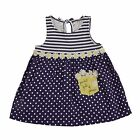 Mud Pie Crochet Daisy Dress Baby Girls 12M-18M #1142205