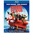 Fred Claus (Blu-ray/DVD/Digital Copy, 2008; 3-Disc Set) NEW w/ Slipcover