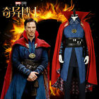 Dr Doctor Strange Stephen Cosplay Costume With Eye of Agamotto Cloak Custom