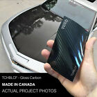 Vvivid 3Mil Black Tech Art Gloss Carbon Fiber Vinyl Car Wrap film