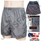 Внешний вид - New Lot 3 6 12 Men Boxers Briefs Underwear Cotton Plaid Trunk Shorts S - 3XL