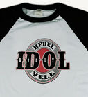 BILLY IDOL new T SHIRT 80s new wave rock All sizes S M L XL 80s