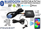 Peugeot 607 Bluetooth music streaming handsfree adaptor car RD3 AUX MP3 iPhone i