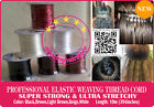 10M*3 Brazilian Knot Hair Extension Ultra Stretchy Elastic Weaving Thread-6Color
