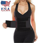 US STOCK Black Waist Trainer Belt - Body Shaper Belt For An Hourglass Shaper