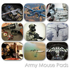 ARMY CUSTOM MOUSE PAD MILITARY GUN RIFLE USAF PERSONALIZED MOUSEPAD  (MM-08)