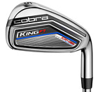 New 2017 Cobra King F7 One Length Steel Irons - (5-PW, GW) RH