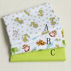 50cm*160CM Cute Animal 100%cotton fabric Quilting Quilt Clothes Bedding Sewing